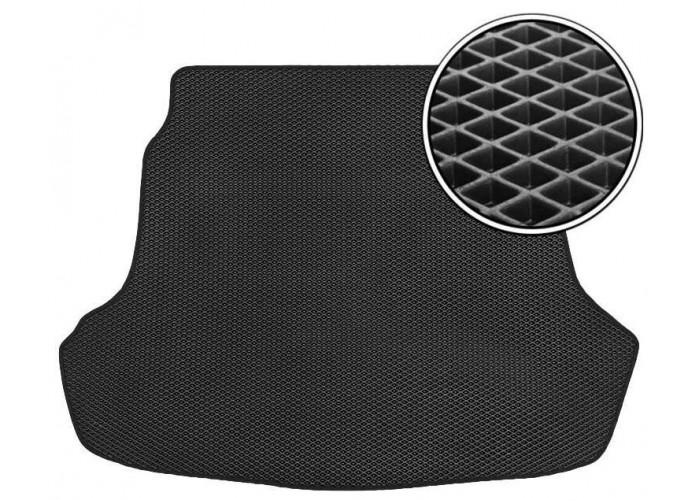 Автомобильный ковер eva в багажник Ваз 2114 Черный